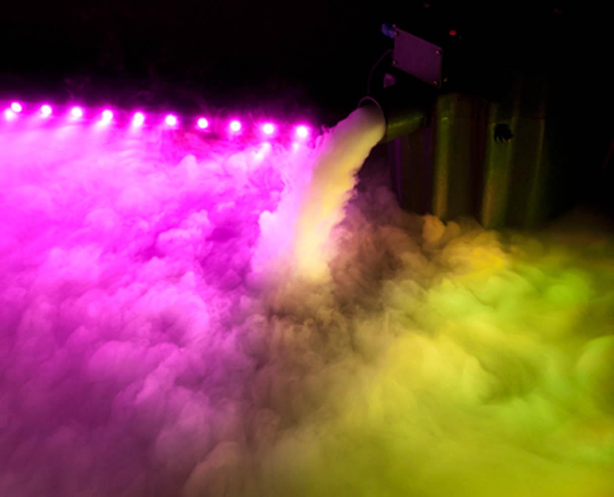 Как на фото сделать эффект дыма